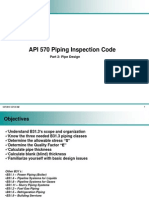 API 570 Part 2 - Pipe Design