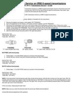 Tech Tips-PF5 Adaptor for DSG Transmission