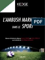 L'Impact de L'Ambush Marketing sur l'Evènementiel Sportif