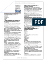 Exercícios Informática ProfºTeo Almeida(CDP-2) Software Livre 20questões