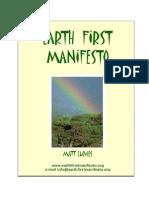 Earth First! Manifesto