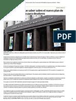 Todo Lo Que Hay Que Saber Sobre El Nuevo Plan de Facilidades de Pago Para Deudores - Infobae