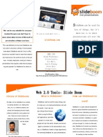 Slide Boom Brochure