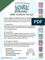 Dork Diaries Activity Pack