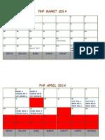Jadwal PHP