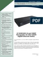 Documents en Active LPSGW2400 SS ENB01W