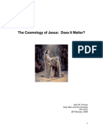 The Cosmology of Jesus