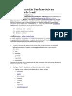 Direitos e Garantias Fundamentais Na Constituição Do Brasil