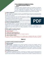 Cuestionarios Practica Forense Der. Penal