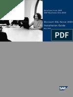 InstallationGuide SAP SQL