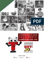 Cartaz Campanha Nacional de Sindicalizacao e Filiacao 2013 Tamanho 40x60 Cm Formato PDF Sem Marcas de Corte