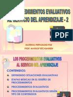 6 Procedimientos Evaluativos 2