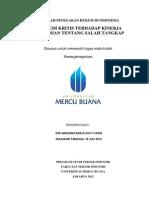 Makalah Kewarganegaraan Penegakan Hukum Di Indonesia
