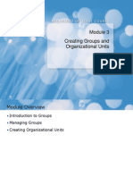 Module 03_Creating Groups and Organizational Units