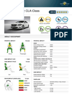 Mercedes CLA EuroNCAP