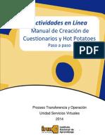 Manual de Creacion de Evaluaciones en Linea