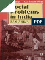Social Problems in India (Ram Ahuja) @Atul