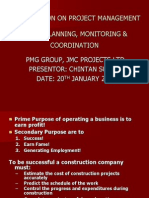 Project Planning and Monitoring by Mr. Chintan Suthar - 20.01.10