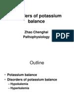 2disorders of Potassium Balance