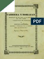 Carrera y Morazán. Cía. Belga de Colonización, 1846