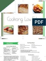 Low-Fat Cookbook