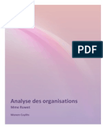 Analyse Des Organisations PDF