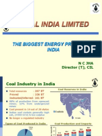 Coal India Limited - The Biggest Energy Provider in India
