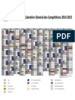 LFP Calendrier 2014-2015