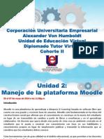 Unidad 2 Manejo de La Plataforma Moodle