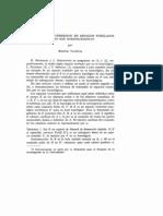 Teoremas de Inmersion en Esapacios Bornologicos