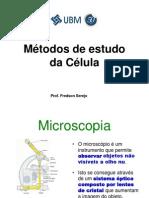 Estudo Da Célula - Microscopia