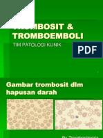TROMBOSIT & TROMBOEMBOLI