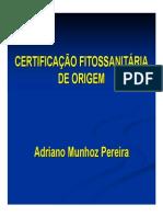 Apresentação Certificação Fitossanitária de Origem