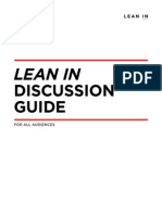 Lean in Discussion Guide All Audiences