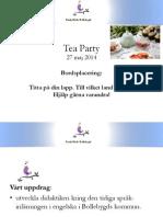 tea party 27 maj 2014