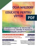 Pedagogia Waldorf - Educatie Pentru Viitor