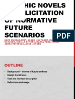 Graphic novels for elicitation of normative future scenarios