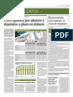Crece Apuesta Por Ahorros y Depósitos a Plazo en Dólares_Gestión 27-05-2014