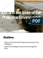 EIA and the State of the Philippine Environment