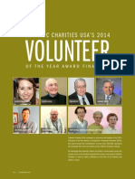 2014 Volunteer of the Year Finalists_Spring 2014
