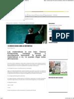 Oaxaca Digital _ 10 Curiosos Hechos Sobre Las Matemáticas