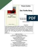 Deutsch - Der Funfte Berg - Paulo Coelho