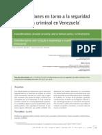 2012_Consideraciones en Torno a La Seguridad y La Politica Criminal en Venezuela