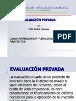 Evaluacion privada