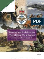 Joint Doctrine Publication 3-40