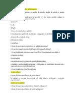 Estudo Dirigido Biologia Farmácia