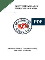 Panduan Sistem Produksi Radio
