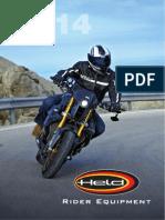 Held Rider Equipment 2014 Catalog