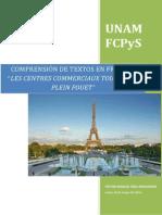 Custionario Texto en Francés ( Víctor )