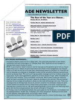 6th grade newsletter may 23 2014